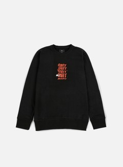 Obey - Can't Help You Crewneck, Black 1