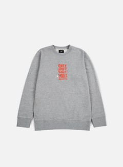 Obey - Can't Help You Crewneck, Heather Grey 1