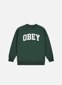 Obey - Collegiate Crewneck, Alpine