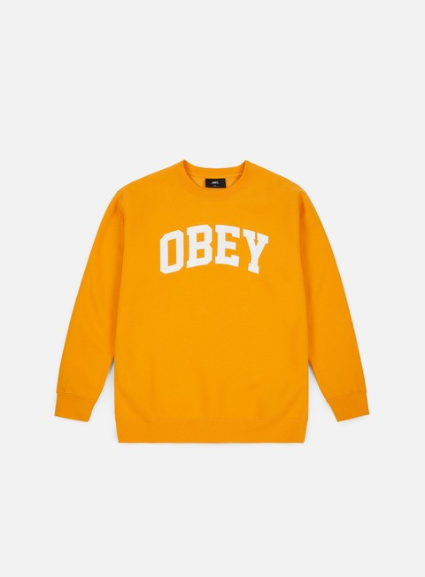 Obey Collegiate Crewneck