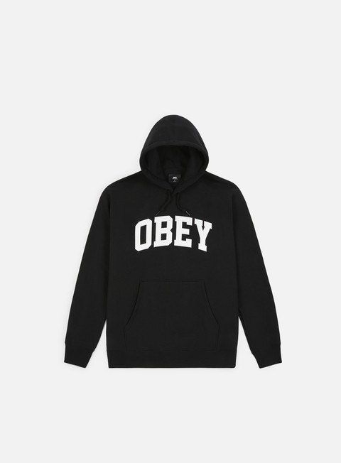 Hooded Sweatshirts Obey Collegiate Hoodie