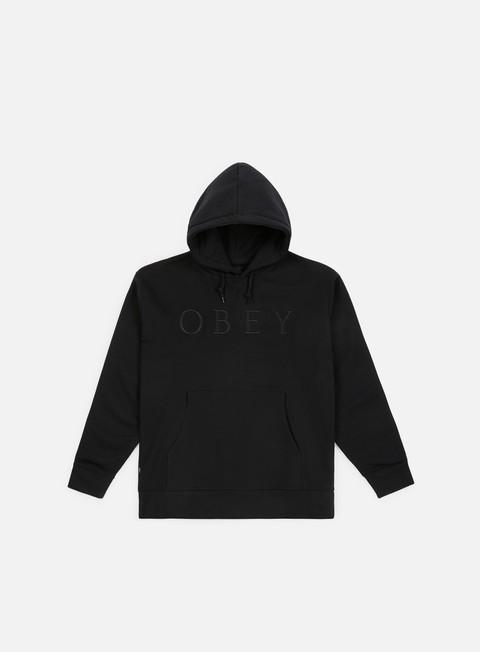 Felpe Logo Obey Construct Hoody