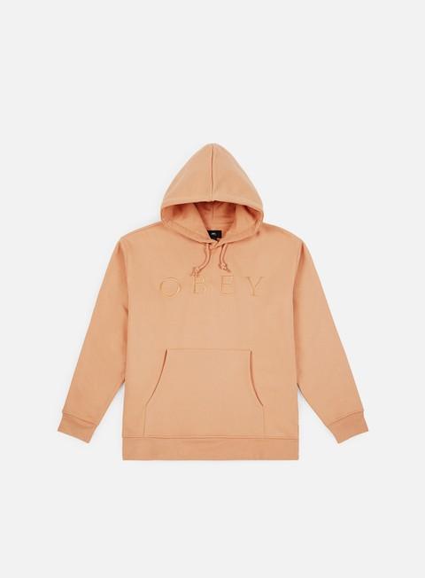Hooded Sweatshirts Obey Construct Hoody