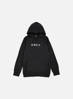 Obey - Contorted Hoodie, Black 1