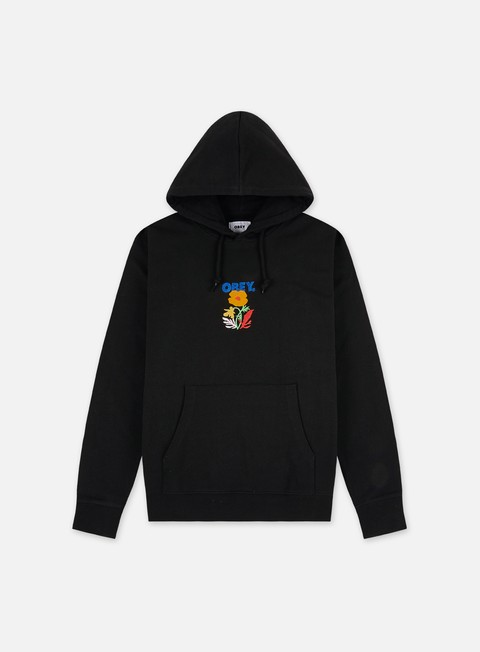 Hooded Sweatshirts Obey Corben Specialty Fleece Hoodie