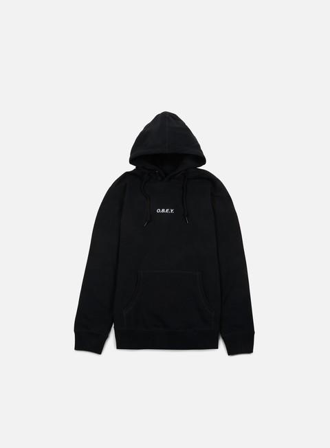 felpe obey corsaire hoodie black