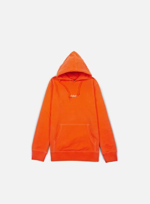 felpe obey corsaire hoodie orange