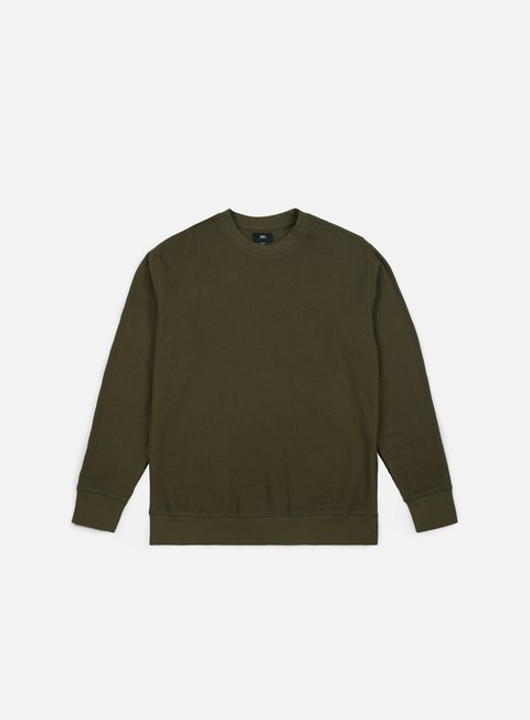 felpe obey covert crewneck dull army