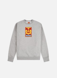 Obey Dickies Oby5 Heavyweight Crewneck