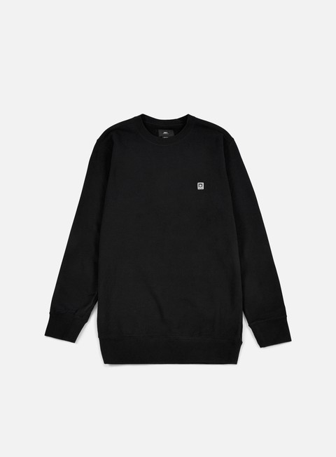 felpe obey eighty nine icon crewneck black