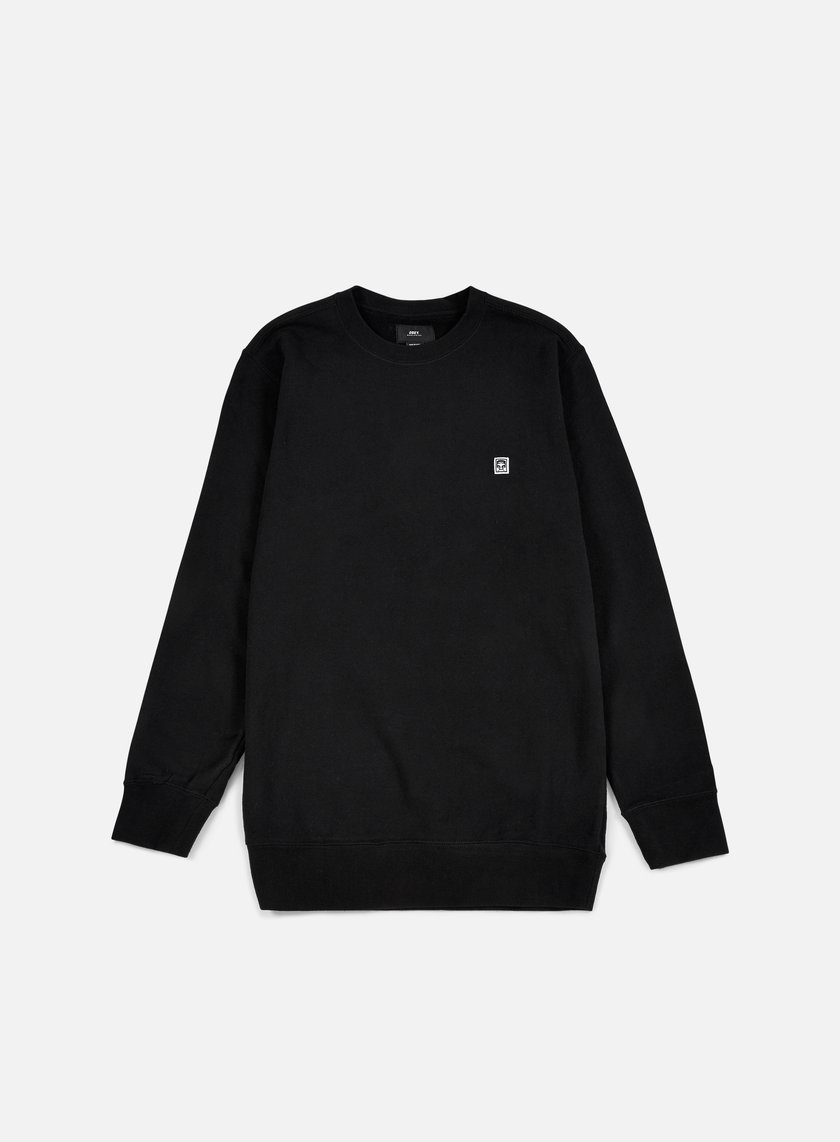 Obey - Eighty Nine Icon Crewneck, Black