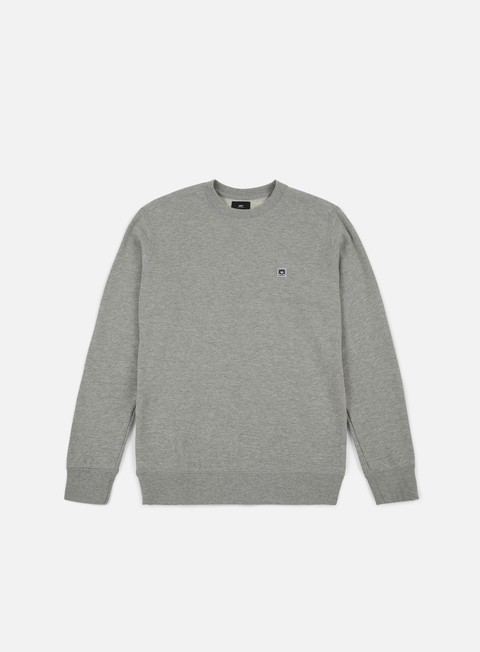 felpe obey eighty nine icon crewneck heather grey