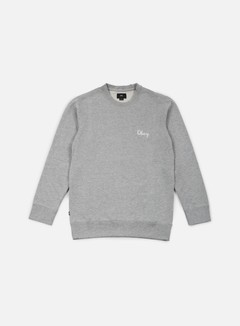 Obey - Euclid Crewneck, Heather Grey 1