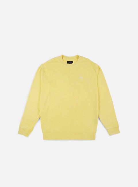 felpe obey fade pigment crewneck yellow