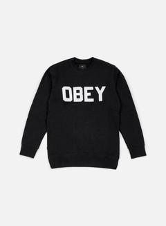 Obey - Fordam Crewneck, Black 1