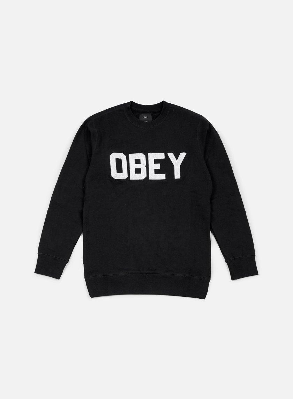 Obey - Fordam Crewneck, Black