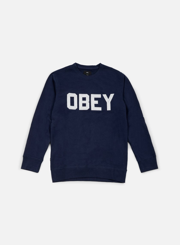 Obey - Fordam Crewneck, Navy