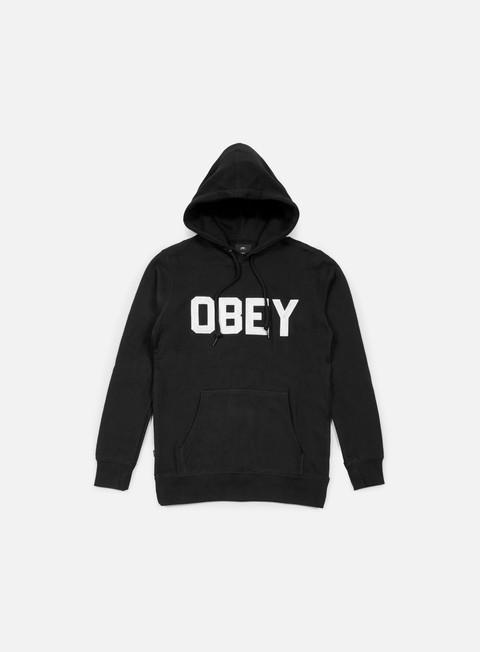 felpe obey fordam hoodie black