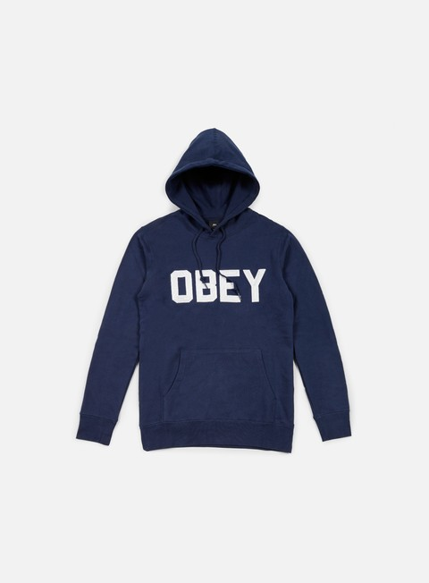 felpe obey fordam hoodie navy