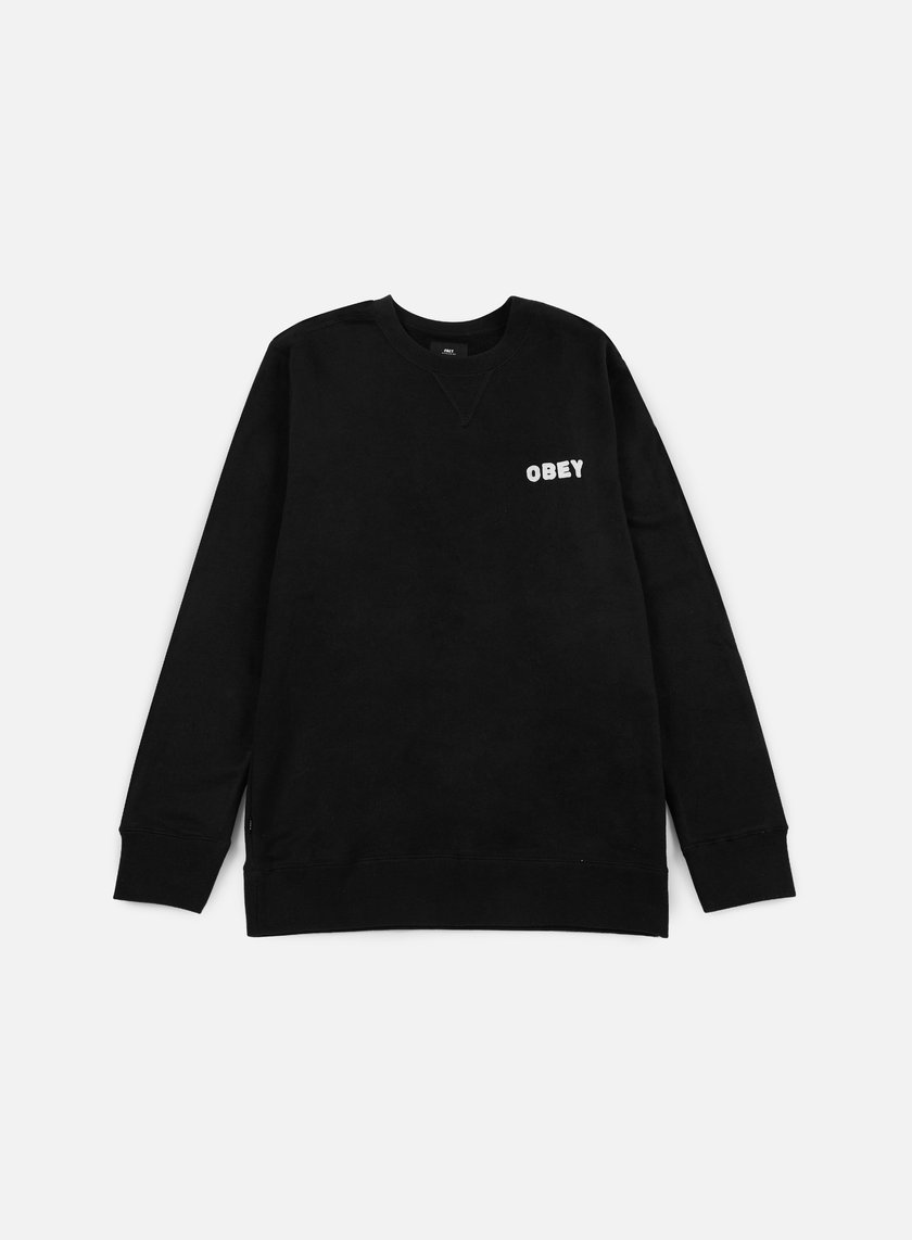 Obey - Foster Crewneck, Black
