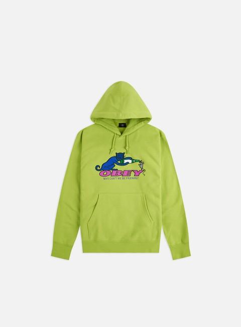 Hooded Sweatshirts Obey Friends Hoodie