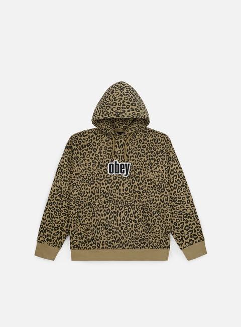 Hooded Sweatshirts Obey Gusto Hoodie