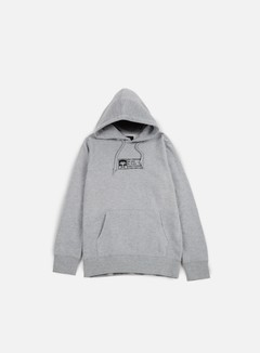 Obey - Half Face Mil Spec Hoodie, Heather Grey 1