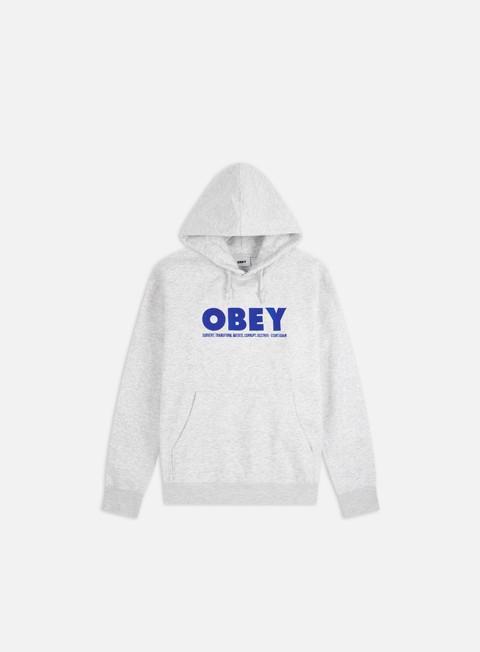 Felpe Logo Obey Hubbs Hoodie