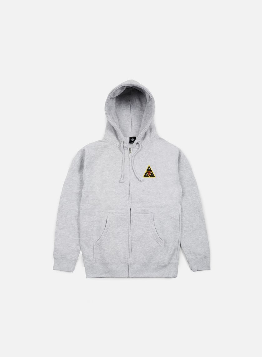 Obey Huf Icon Face Zip Hoodie