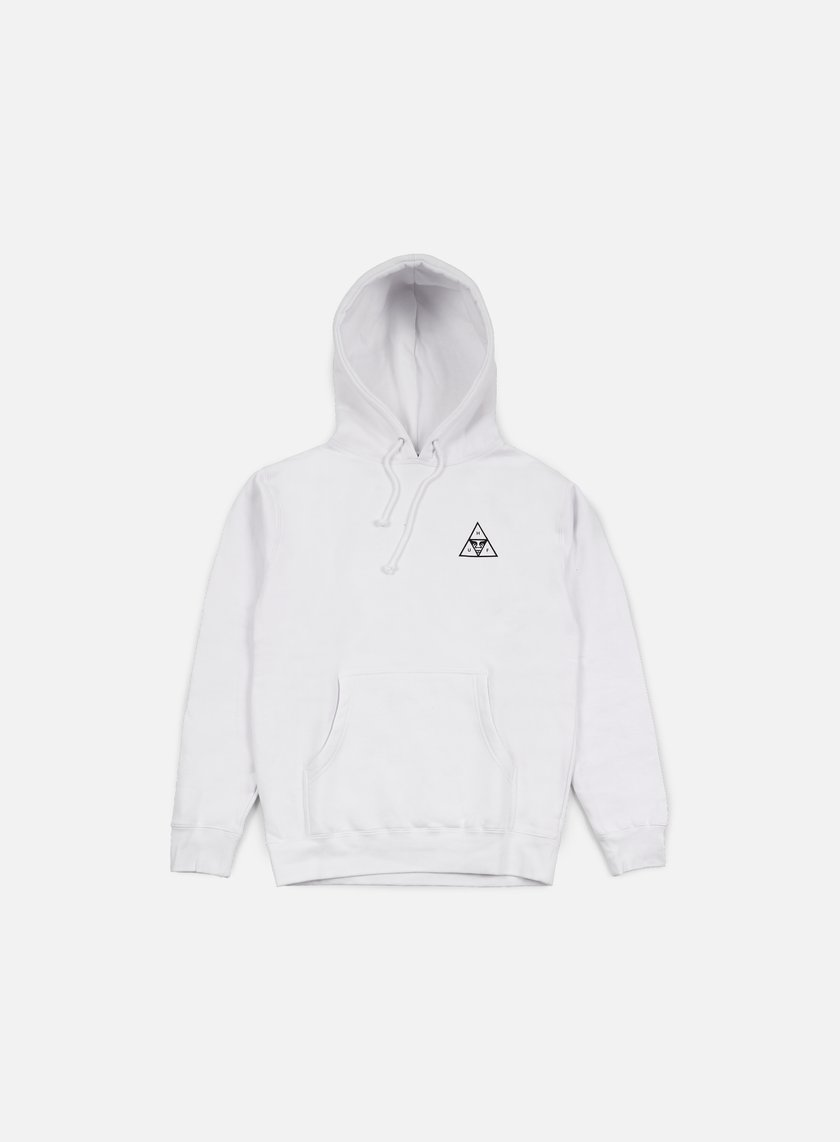Obey - Huf Triple Triangle Hoodie, White