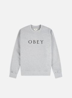 Obey Ideals Sustainable Logo Crewneck