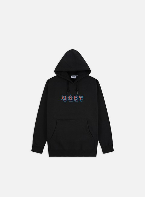 Hooded Sweatshirts Obey Judge Hoodie