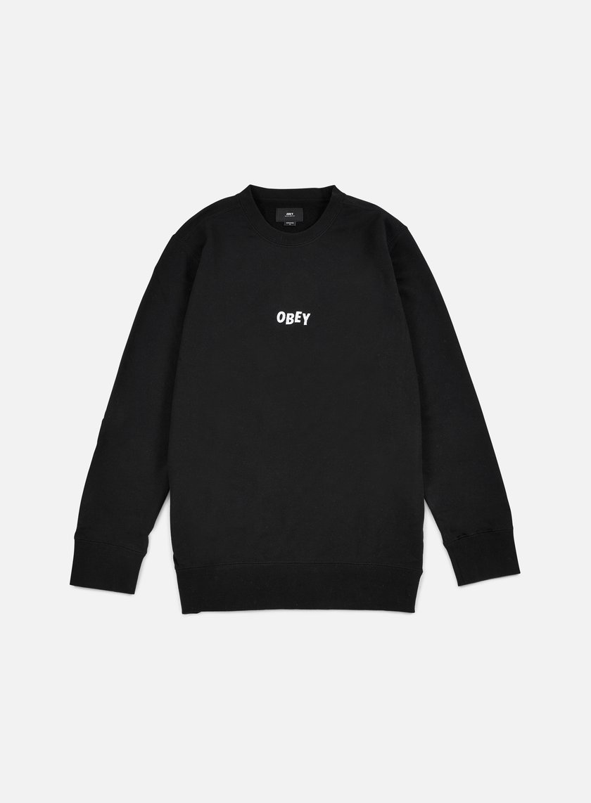 Obey - Jumble Bars Crewneck, Black
