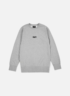 Obey - Jumble Bars Crewneck, Heather Grey