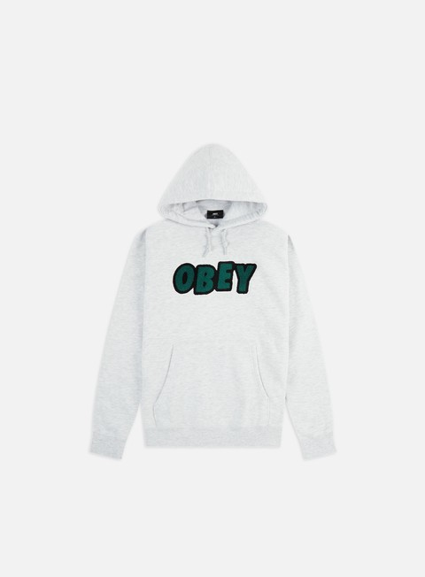 Felpe con Cappuccio Obey Jumble Obey Hoodie