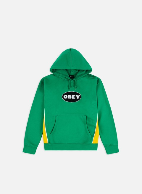 Outlet e Saldi Felpe con Cappuccio Obey League Custom Hoodie