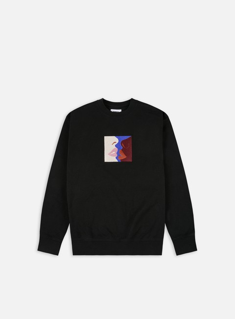 Obey Lips Speciality Fleece Crewneck