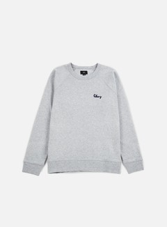 Obey - Lofty Chain Stitch Crewneck, Athletic Heather Grey 1
