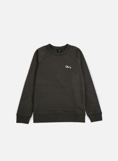 Obey - Lofty Chain Stitch Crewneck, Pirate Black