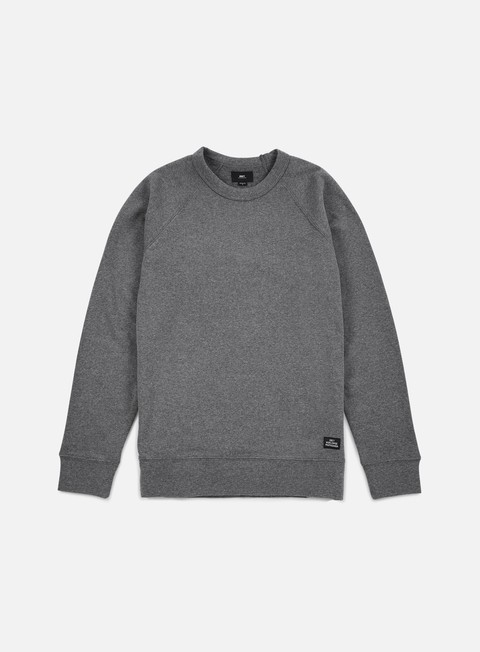felpe obey lofty creature crewneck heather grey