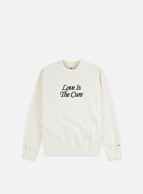Obey Love Is The Cure Specialty Crewneck