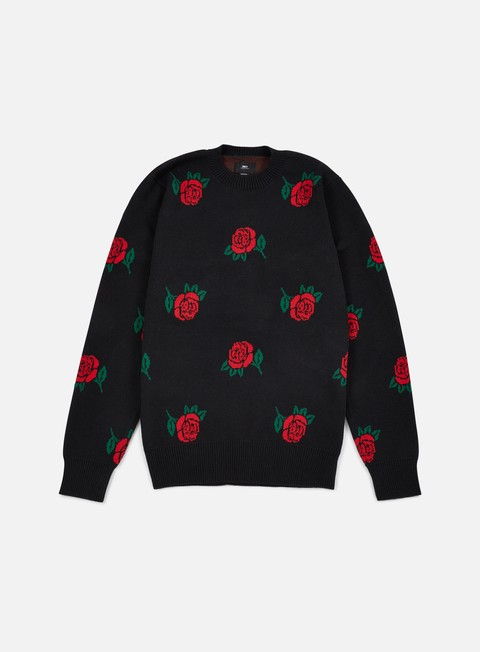 felpe obey montrose sweater black multi