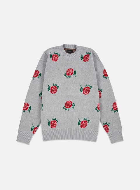 felpe obey montrose sweater heather grey multi