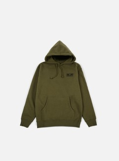 Obey - No One Graphic Hoodie, Army