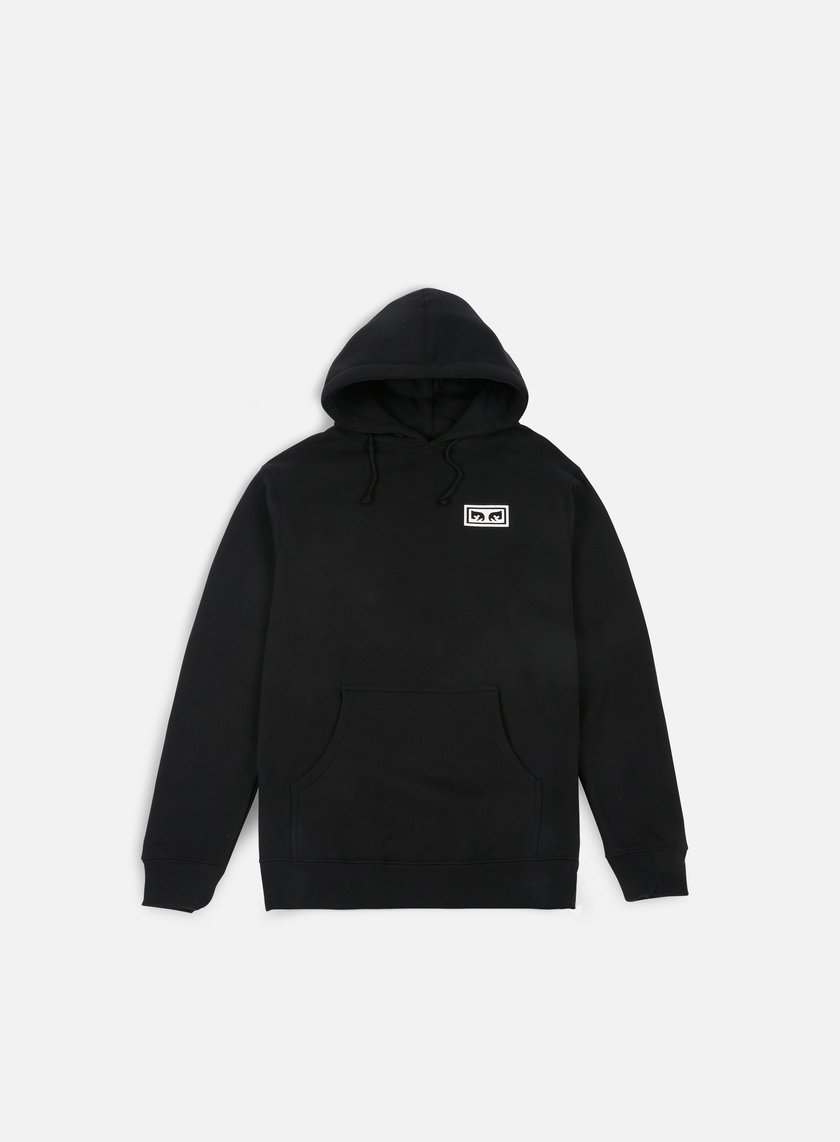 Obey - No One Graphic Hoodie, Black