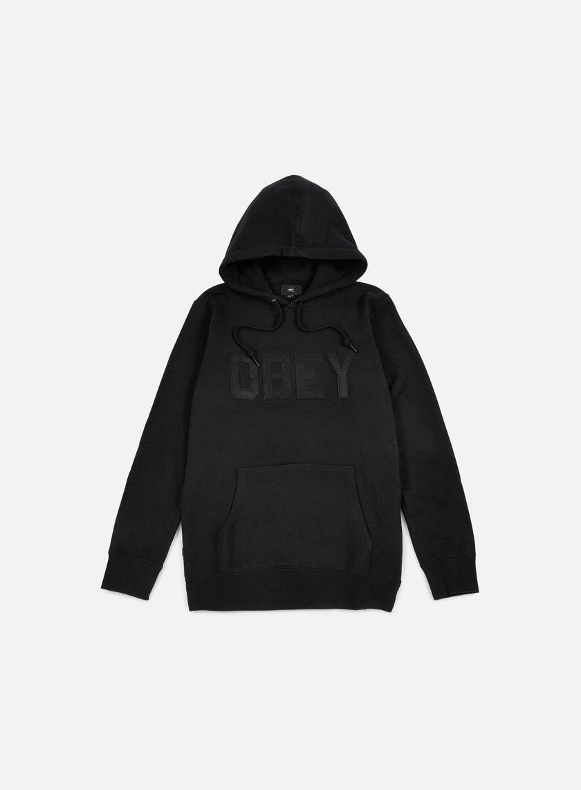Obey - North Point Hoodie, Black