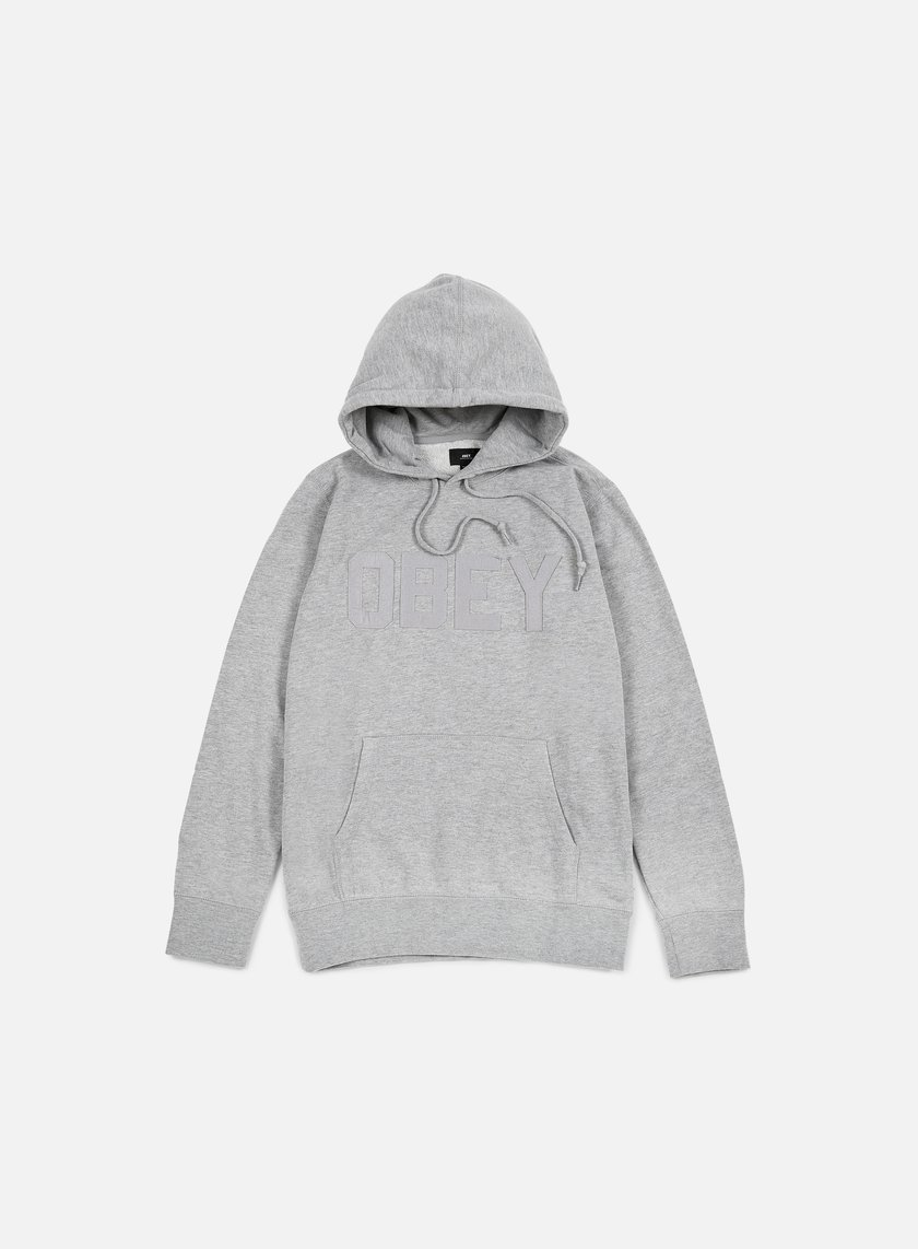 Obey - North Point Hoodie, Heather Grey