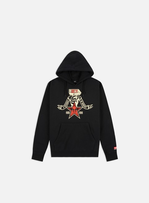 Hooded Sweatshirts Obey Obey 3 Decades Of Dissent Box Fit Premium Hoodie
