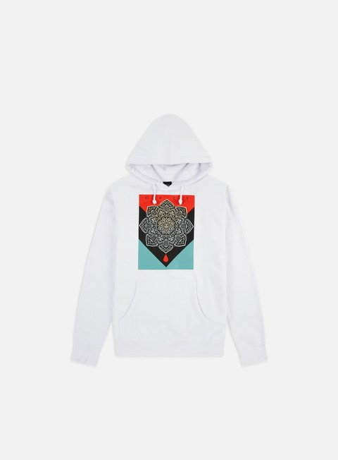 Hooded Sweatshirts Obey Obey Blood & Oil Mandala Hoodie