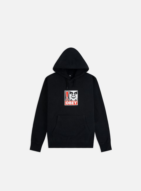 Obey Obey Exclamation Point Hoodie